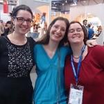 Eileen Raven Scott, Sabrina Zelezny und ich - als Trio infernale