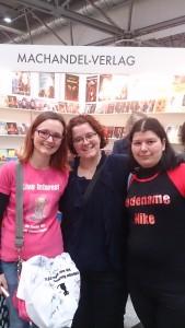 v. links nach rechts Susanna Montua, ich, Annika Dick