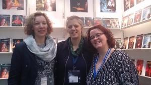 v.r. Rita Janaczek, Charlotte Erpenbeck, ich